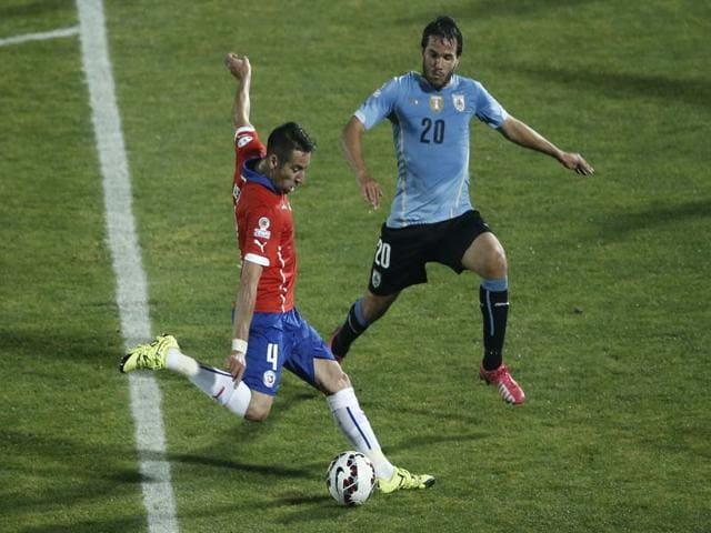 Copa America,Mauricio Isla,Gonzalo Jara