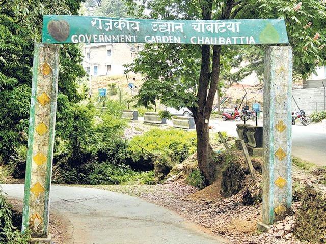 The-entrance-to-Chaubattia-garden-Neha-Pant-HT-Photo