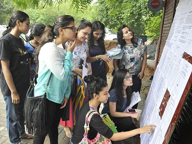 DU admissions,Delhi University,cutoff list