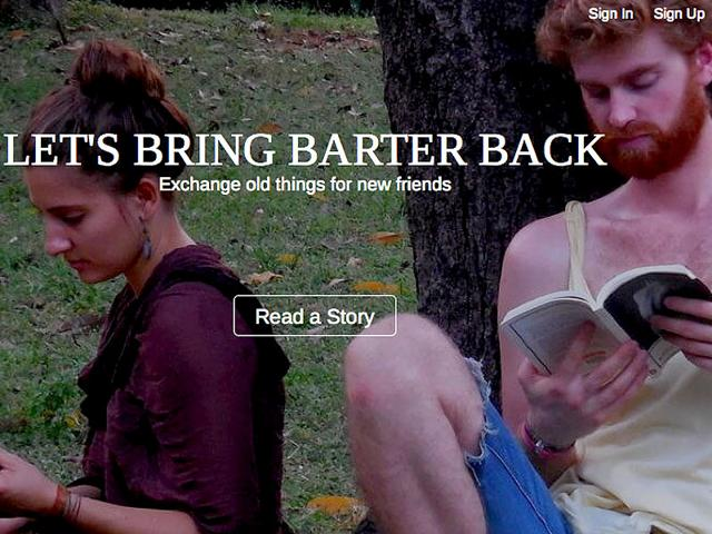 Barterstreets-com-allow-you-to-exchange-books-game-DVDs-art-collectibles-and-even-services