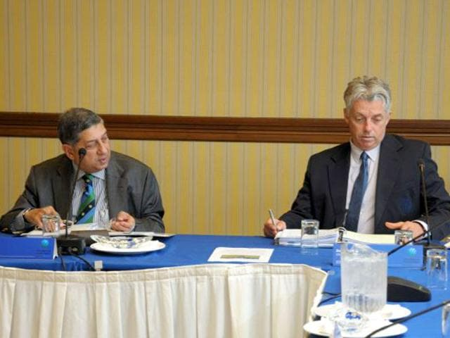 ICC-Chairman-N-Srinivasan-left-and-ICC-Chief-Executive-David-Richardson-during-the-ICC-Annual-Conference-2015-in-Barbados-where-the-changes-to-the-ODI-format-were-announced-Photo-from-ICC-website