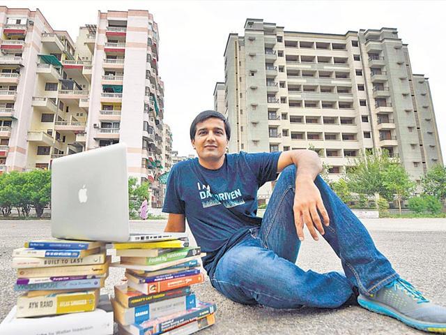 Saurabh-Hooda-34-the-Dwarka-IT-professional-who-founded-Lenro-Vipin-Kumar-and-Pratham-Gokhale-HT-Photo