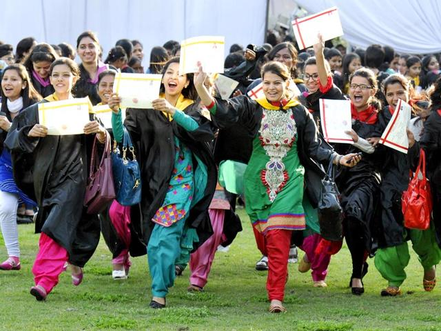 Students-graduating-from-educational-institutes-in-and-around-Chandigarh-are-finding-it-difficult-to-get-absorbed-into-the-globally-competitive-marketplace-HT-Photo