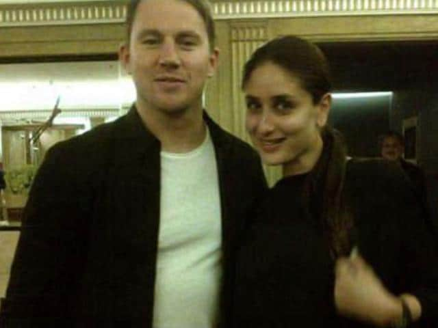 Kareena Kapoor,Channing Tatum,Kareenma Channing