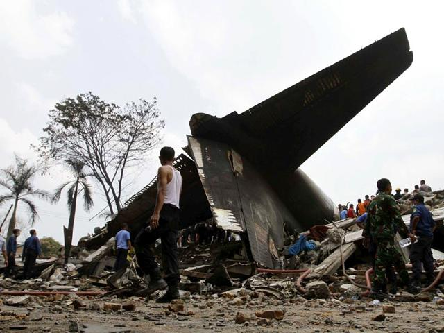 Death toll in Indonesia military plane crash reaches 141