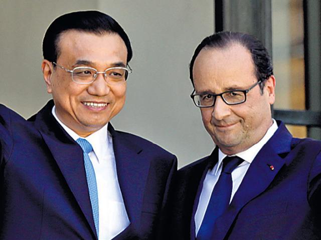 Carbon emissions,China,France
