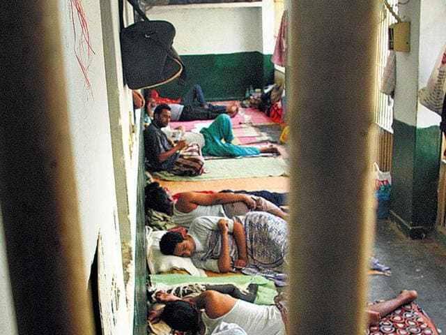 Inmates-in-Tihar-Jail-India-s-largest-prison-The-New-Delhi-based-detainment-centre-has-witnessed-several-dramatic-jailbreaks-over-its-history-HT-File-Photo