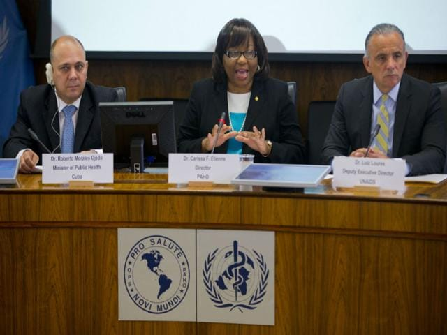 Cuba-s-Health-Minister-Dr-Roberto-Tomas-Morales-Ojeda-speaks-at-the-World-Health-Organization-WHO-to-announce-that-Cuba-is-world-s-first-country-to-receive-validation-of-having-eliminated-mother-to-child-transmission-of-HIV-and-Syphilis-at-the-Pan-American-Health-Organization-World-Health-Organization-PAHO-WHO-headquarters-in-Washington-AP-Photo