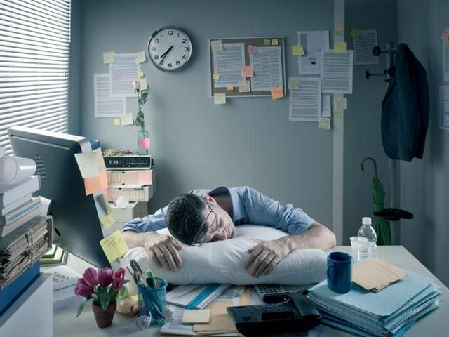 Power Nap,Napping At Work,Work Stress