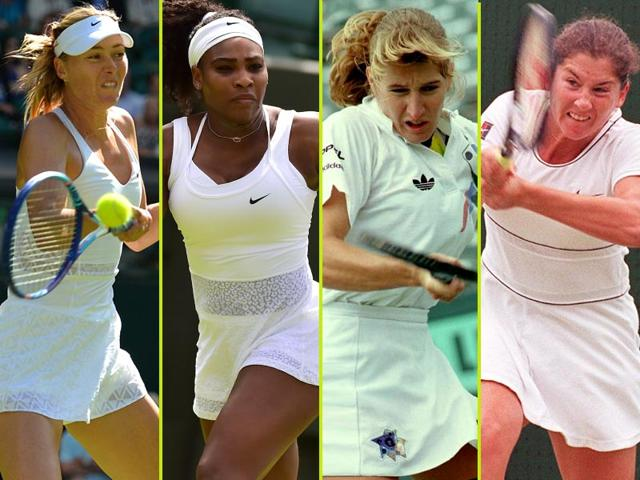 Women-s-tennis-has-had-and-still-has-its-fair-share-of-epic-rivalries-From-L-to-R-Maria-Sharapova-Serena-Williams-Steffi-Graf-and-Monica-Seles-Agencies