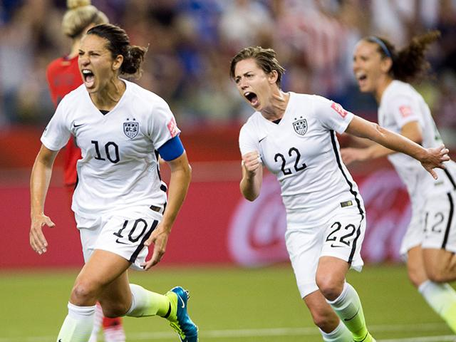 United-States-Carli-Lloyd-10-celebrates-after-scoring-on-a-penalty-kick-against-Germany-as-Meghan-Klingenberg-22-follows-during-the-second-half-of-the-semi-final-in-the-Fifa-Women-s-World-Cup-soccer-tournament-on-June-30-2015-in-Montreal-Canada-AP-Photo