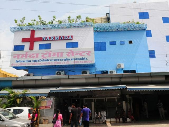 Income Tax searches,I-T department,Narmada hospital