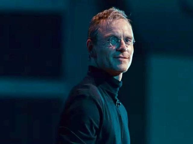 Michael Fassbender as Steve Jobs. (Universal Pictures)