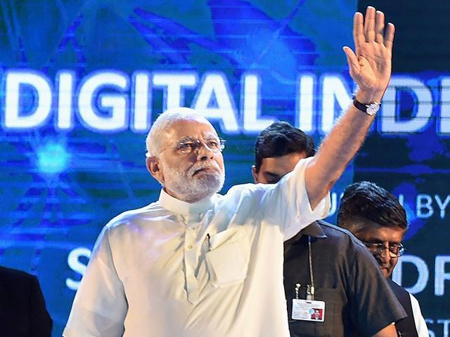 Prime-Minister-Narendra-Modi-at-the-launch-of-Digital-India-Week-in-New-Delhi-PTI-Photo