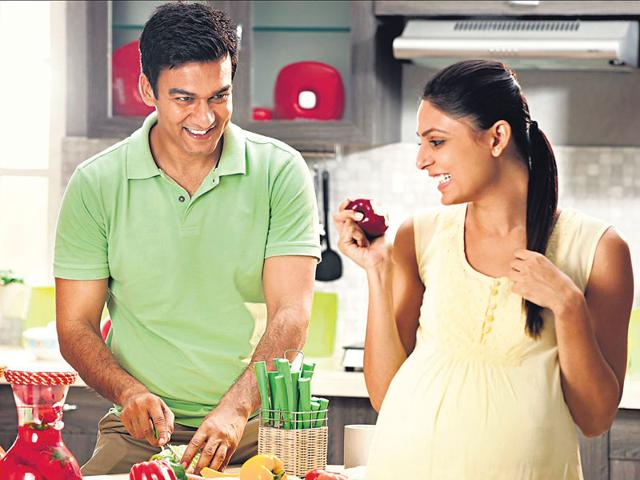Post-Pregnancy Fat,Daddy Cool,Men Help Wives Reduce Fat