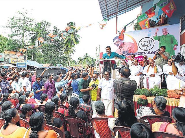 kerala,BJP,congress