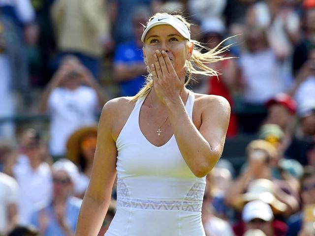 Maria-Sharapova-of-Russia-celebrates-after-winning-her-women-s-singles-quarter-final-match-of-the-2015-Wimbledon-Championships-against-Coco-Vandeweghe-of-the-USA-at-The-All-England-Lawn-Tennis-and-Croquet-Club-in-London-on-July-7-2015-Reuters-Photo