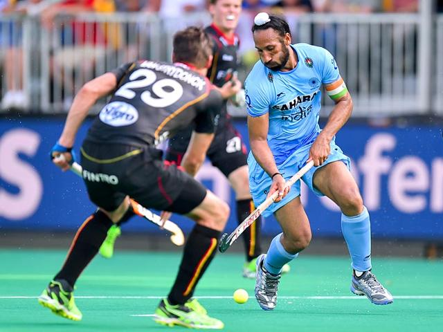 Hockey World League,India vs Belgium,Sardar Singh