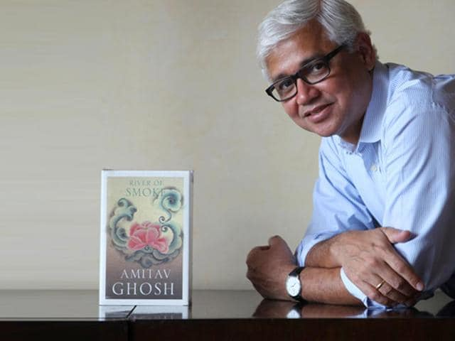 Amitav Ghosh,Flood of Fire,opium trilogy