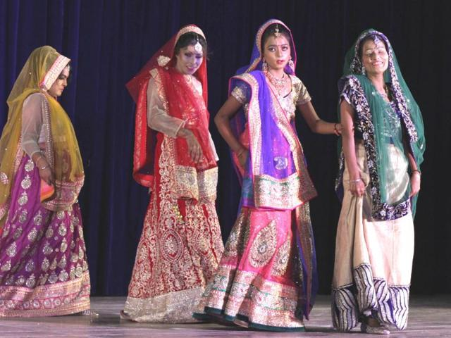 Nine-women-who-survived-acid-attack-participated-in-a-charity-event-titled-Beautiful-You-at-Guru-Nanak-Bhawan-in-Ludhiana