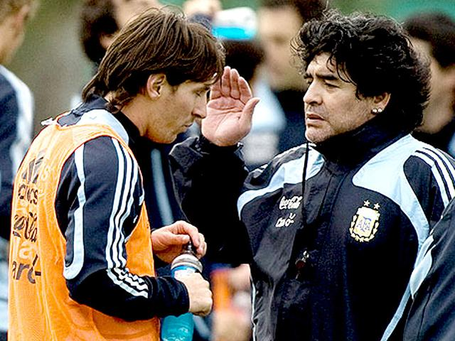 A-file-photo-of-Diego-Maradona-and-Lionel-Messi-at-a-training-camp-in-Buenos-Aires-Agencies
