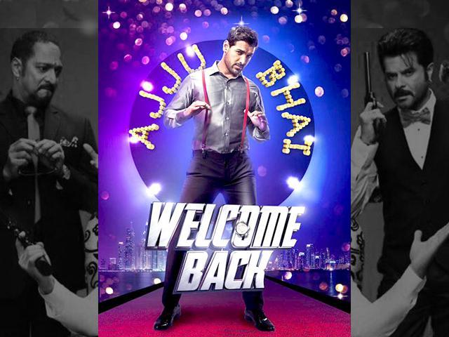 Welcome Back,John Abraham,Shruti Hassan