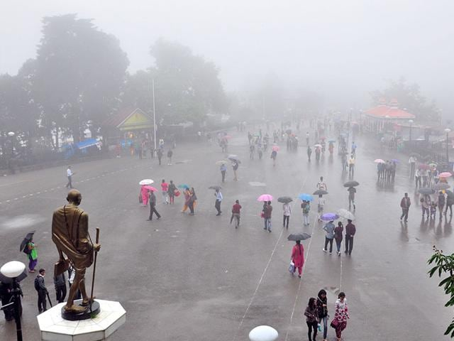 In pics: Rain brings relief for North India