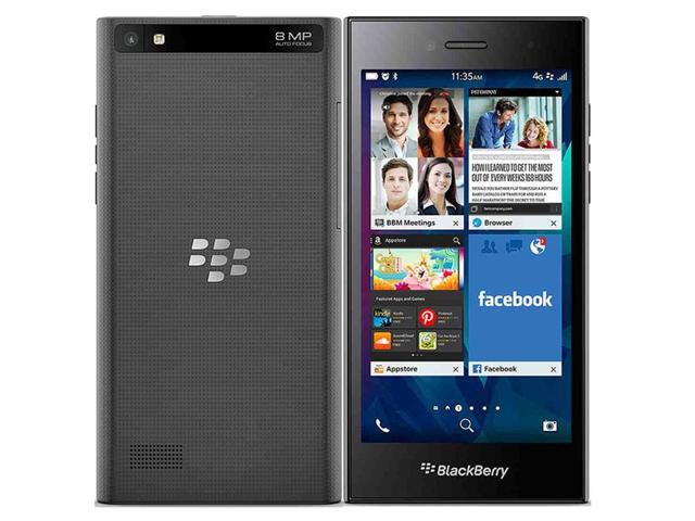BlackBerry Leap,BlackBerry OS 10,Android