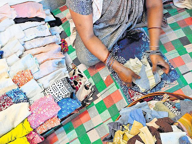 Recyclable-sanitary-napkins-being-made-at-a-processing-unit-in-Delhi-Most-sanitary-napkins-available-in-the-market-are-non-biodegradable-and-are-difficult-to-dispose-HT-Photo-Saumya-Khandelwal