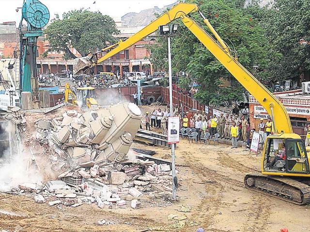 250-year-old-Rojgareshwar-Mahadev-temple-at-Chhoti-Chaupar-was-demolished-in-June-HT-photo