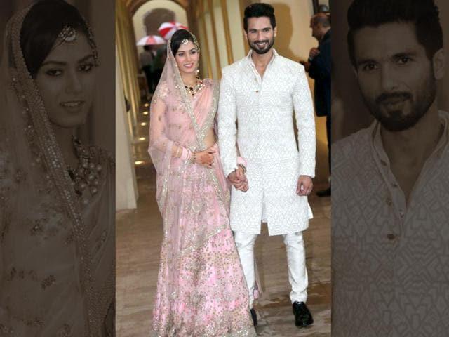 Bollywood weddings,celebrity weddings,Shahid Kapoor