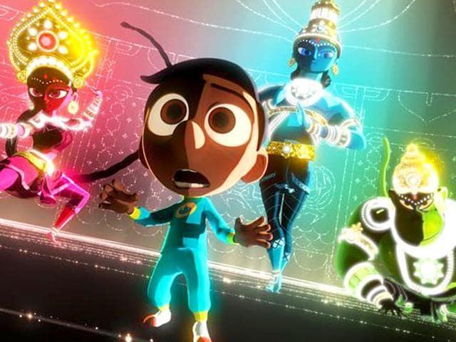 Pixar,Sanjay's Super Team,animation