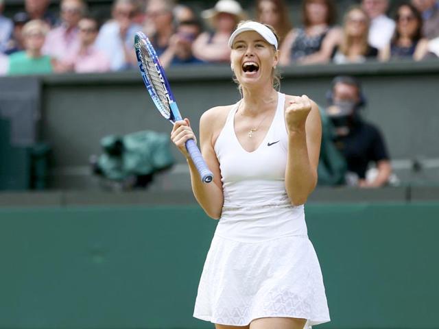 Wimbledon 2015,Maria Sharapova,Coco Vandeweghe