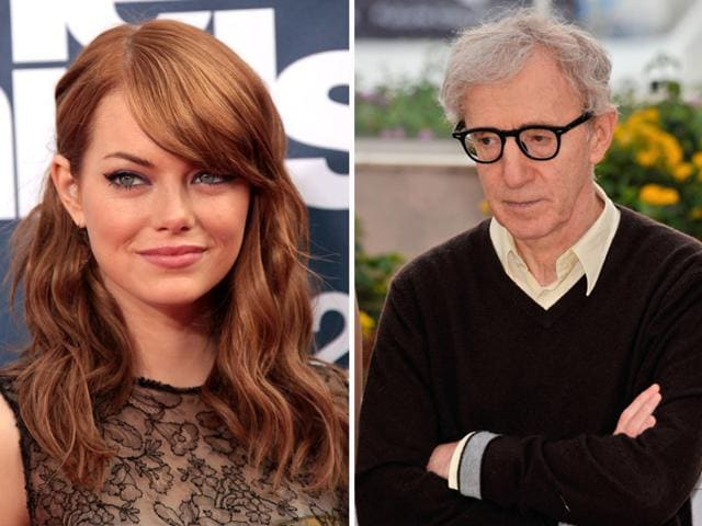 Woody Allen gushes about his new muse Emma Stone. (Shutterstock)