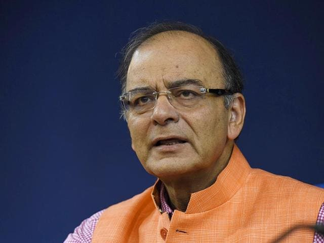 Union-finance-minister-Arun-Jaitley-while-giving-final-touches-to-the-Annual-Budget-2014-15-in-New-Delhi-on-Wednesday-PTI-Photo
