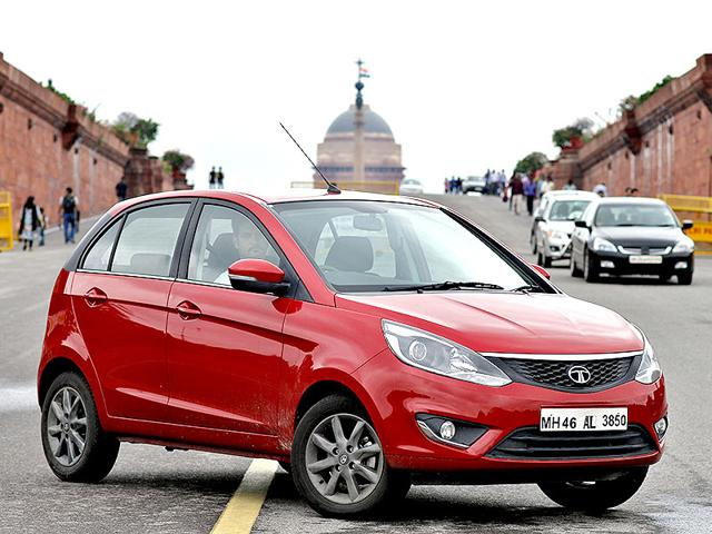 The new Tata Bolt has been designed keeping in mind the youth especially and the car also shows similar excitement. (Virender Singh Gosain/HT photo)