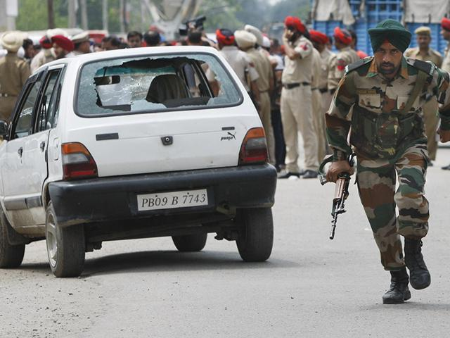 The night vision device was found near a stretch of the Amritsar-Pathankot railway track to which five improvised explosive devices (IEDs) were tied to derail a passing train. (PTI File Photo)