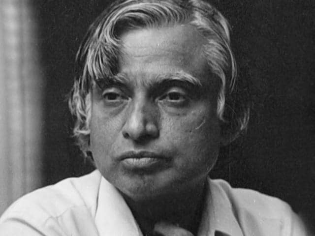 In-this-photo-taken-on-26-May-1989-Abdul-Kalam-is-attending-Agni-s-Scientists-Press-Conference-HT-Photo-by-Santosh-Gupta