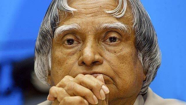 Former president Dr APJ Abdul Kalam (File Photo)