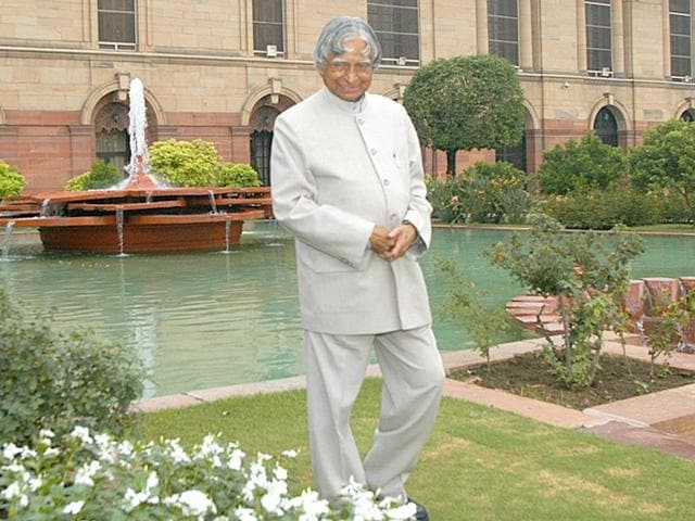 Former-president-and-Bharat-Ratna-APJ-Abdul-Kalam-died-on-Monday-after-collapsing-during-a-lecture-in-Shillong-Sanjeev-Verma-HT-File-Photo