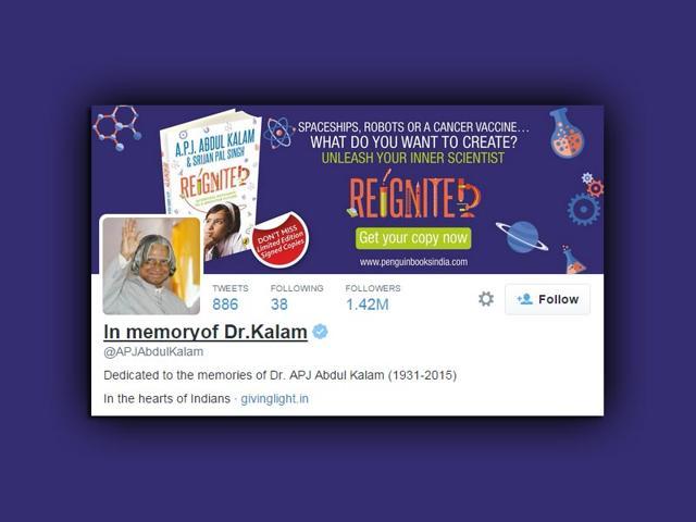 APJ Abdul Kalam dies