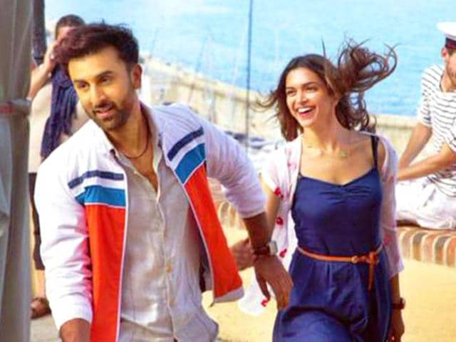 Ranbir Kapoor and Deepika Padukone in the first look from Tamasha.