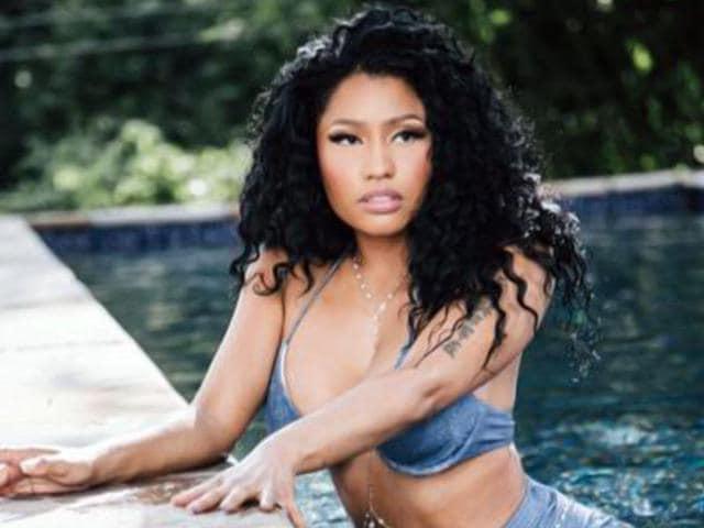 Anaconda-singer-Nicki-Minaj-is-a-rapper-singer-songwriter-and-an-actor-Seen-here-in-the-music-video-All-Eyes-On-You--nickiminaj-Twitter