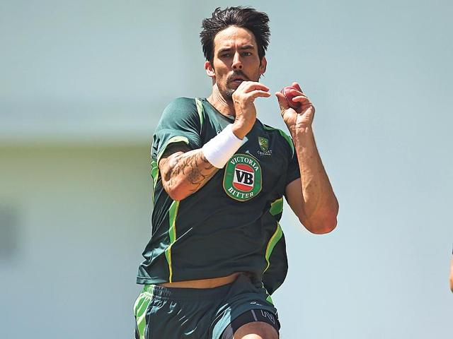 Mitchell-Johnson-is-just-a-wicket-short-of-becoming-only-the-fifth-Australian-bowler-to-scalp-300-or-more-Test-wickets-as-Australia-face-England-in-the-third-Ashes-Test-at-Edgbaston-from-Wednesday-July-29-2015-Getty-Images