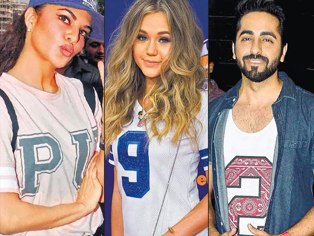 Jacqueline-Fernandez-Brec-Bassinger-and-Ayushmann-Khurrana-sporting-the-sporty-look