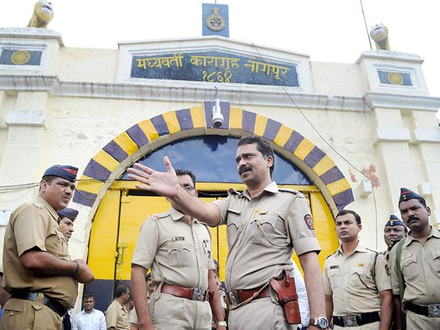 Tight-security-outside-the-Nagpur-Central-Jail-where-1993-Mumbai-blasts-convict-Yakub-Memon-was-lodged-PTI-Photo