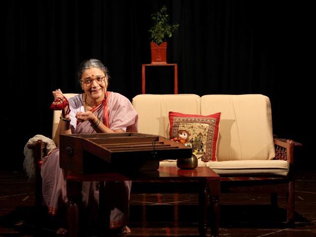 A-monologue-by-actress-Ila-Bhate-the-play-Pai-Paishachi-Goshta--is-based-on-a-short-story-by-Vijaya-Rajadhyaksha