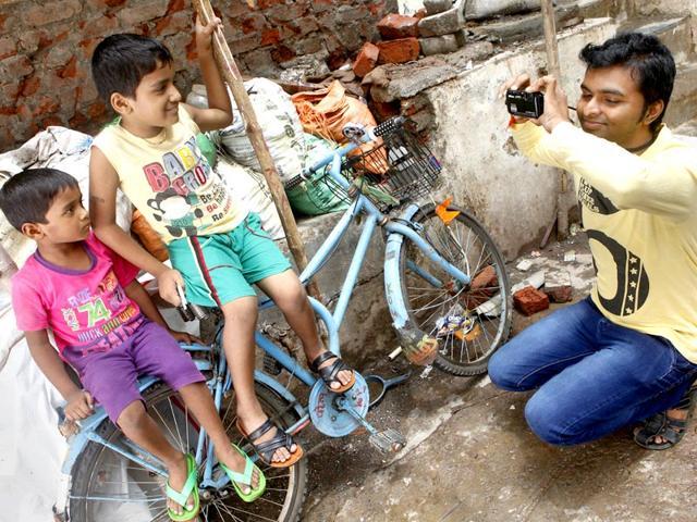 Bhavesh-Patel-at-an-outdoor-photoshoot-Arijit-Sen-HT-photo