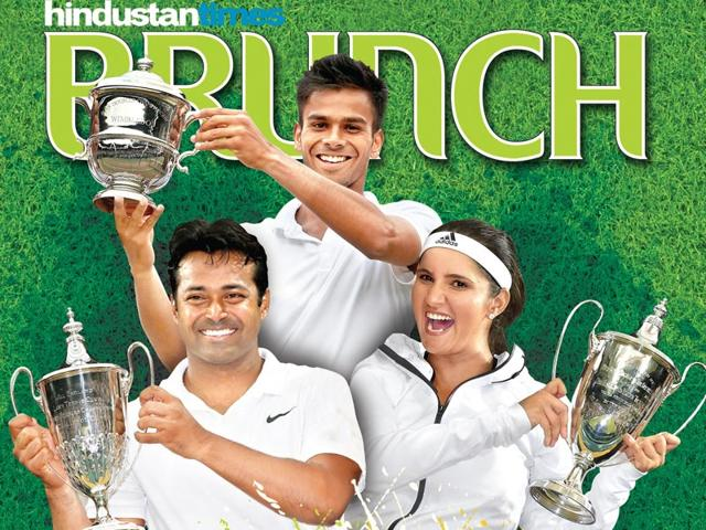 Champions-Leander-Paes-Sania-Mirza-and-Sumit-Nagal-made-it-three-love-for-India-at-Wimbledon-2015