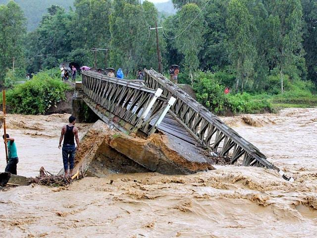 A-bridge-was-washed-away-by-the-flood-waters-in-Thoubal-District-in-Manipur-AFP-Photo